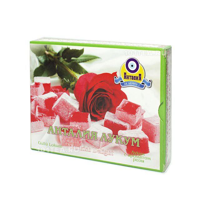 Рахат-лукум с ароматом розы 125 гр